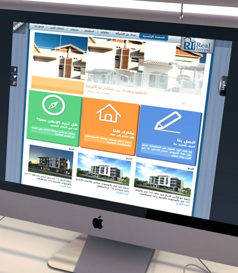 Real Invest Website Design